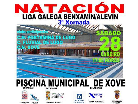 Club nataci n xove for Piscina municipal lugo